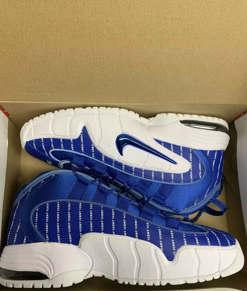 Nike Air Max Penny Pinstripe Game Royal Limited Edition