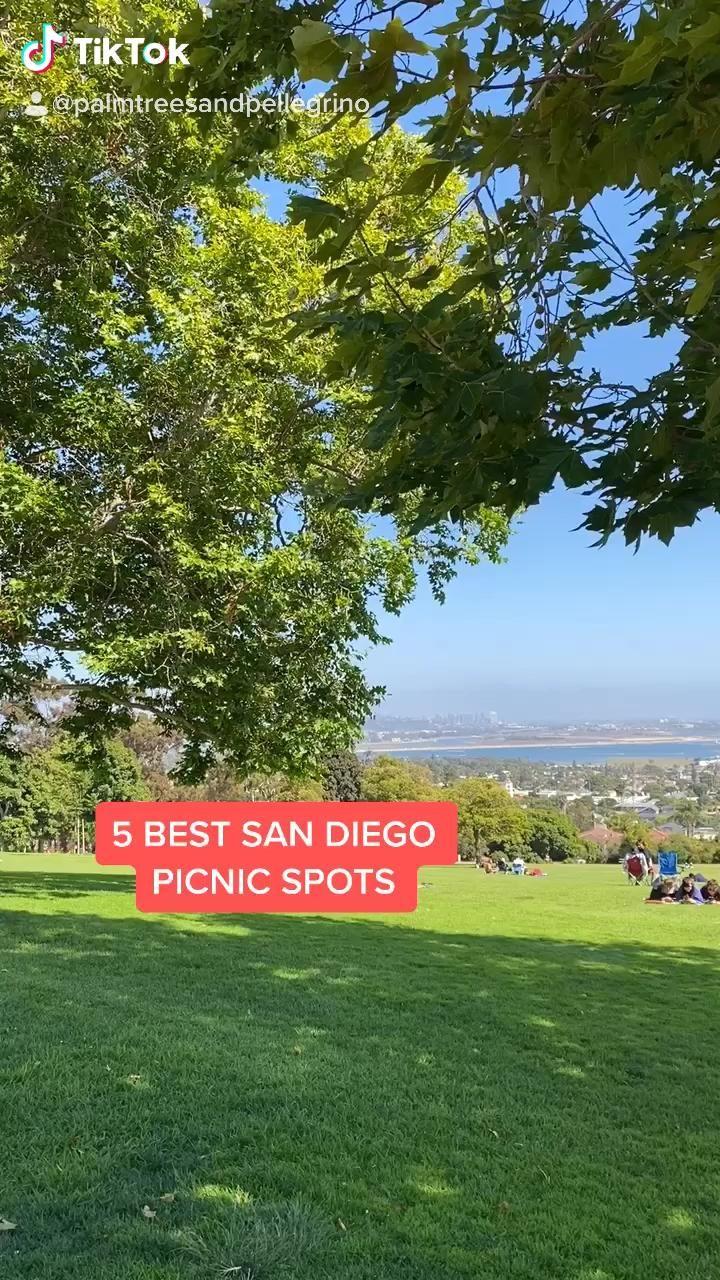 5 Best San Diego Picnic Spots Video Date Ideas San Diego San Diego Activities Pacific Beach San Diego