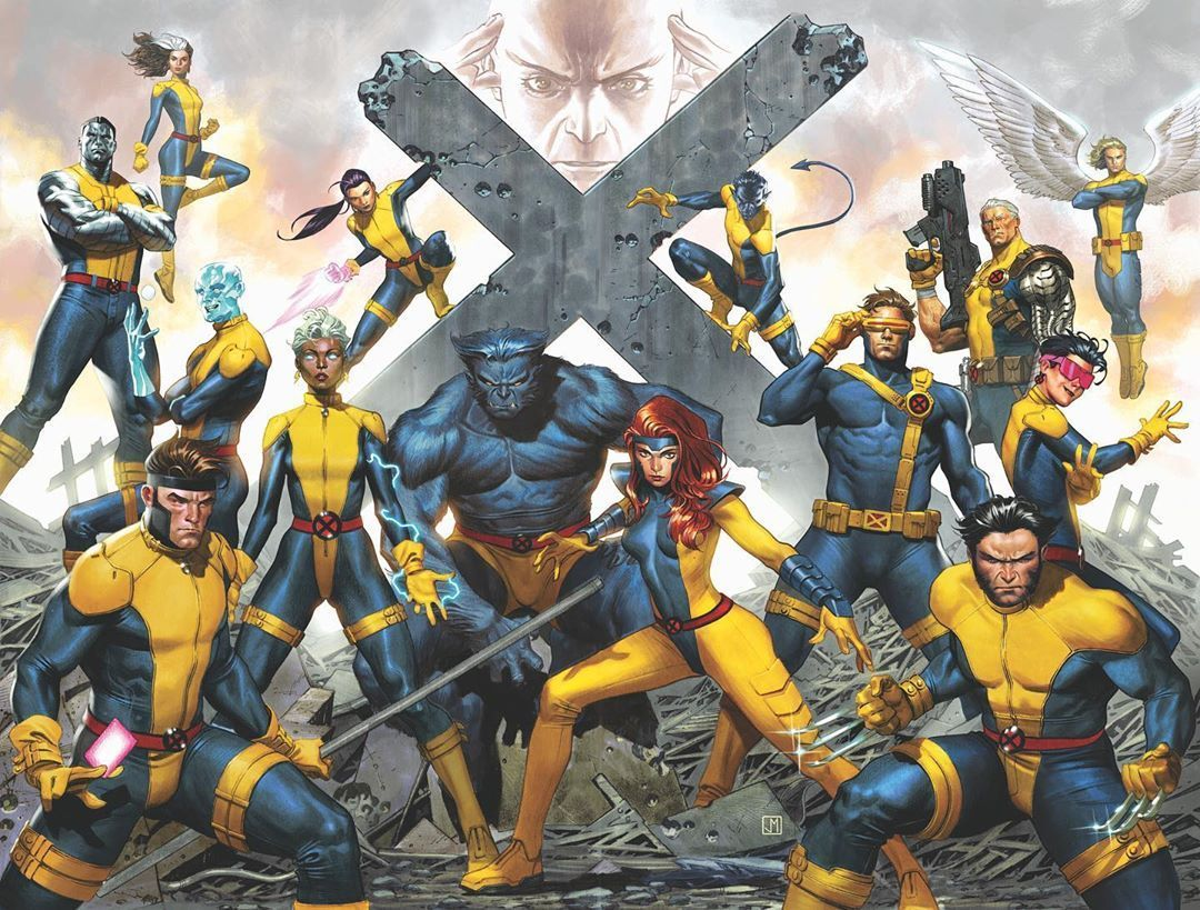 X Men By Jorge Molina Marvel Comics Art Marvel Xmen Comics