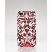 Tory Burch iPhone Case - Garnet