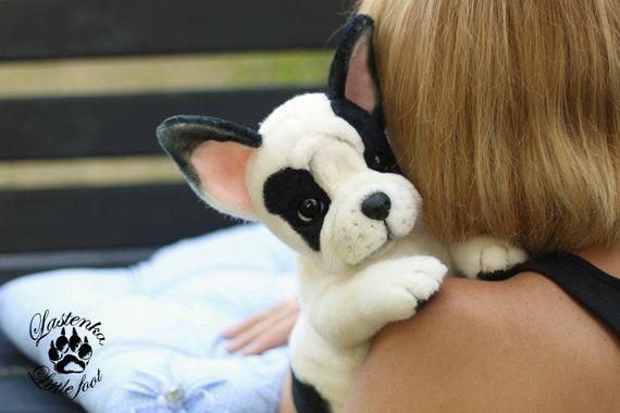 Puppy French Bulldog Gatsby Ooak Realistic Artist Stuffed Handmade