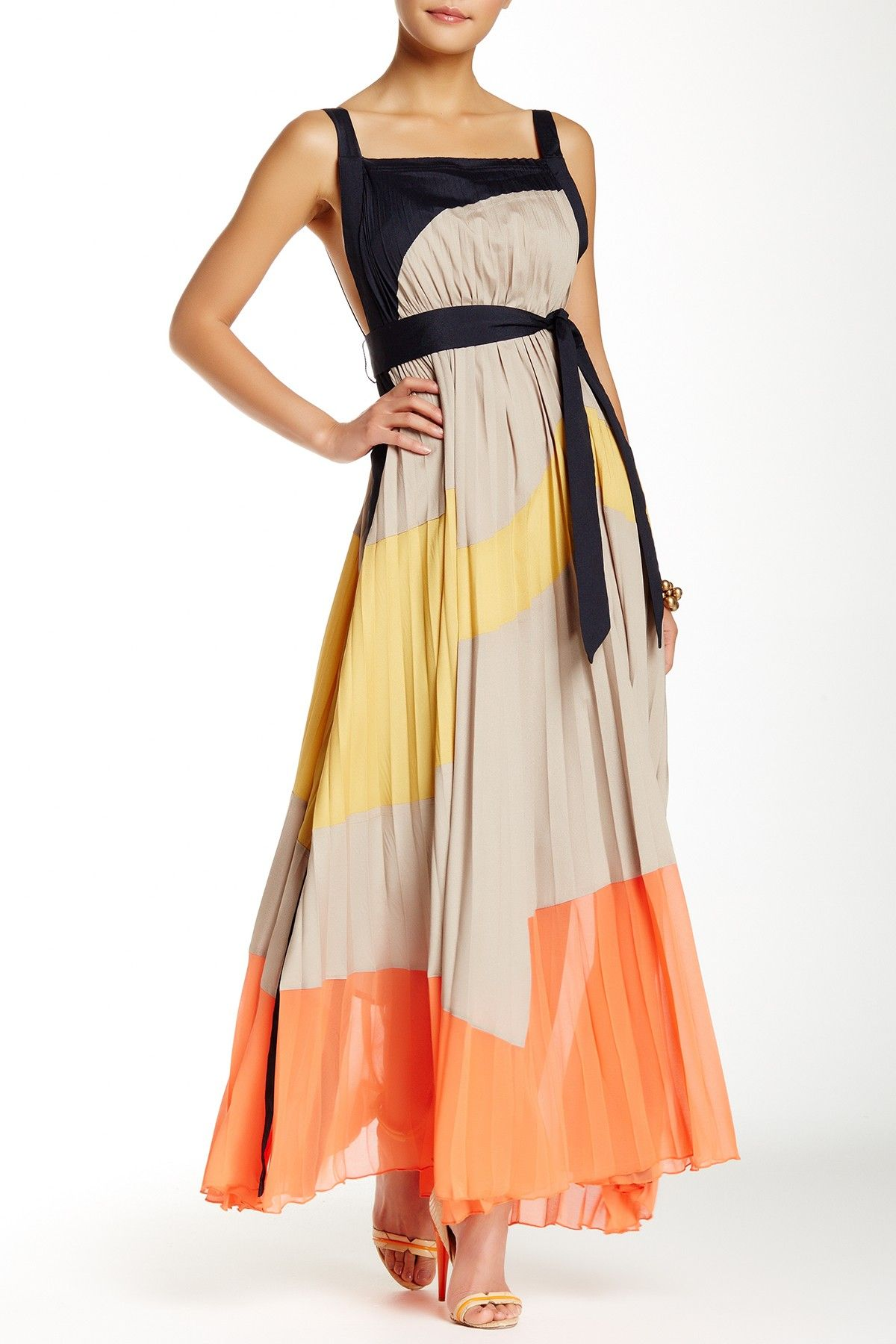 Gracia long sleeve maxi dress