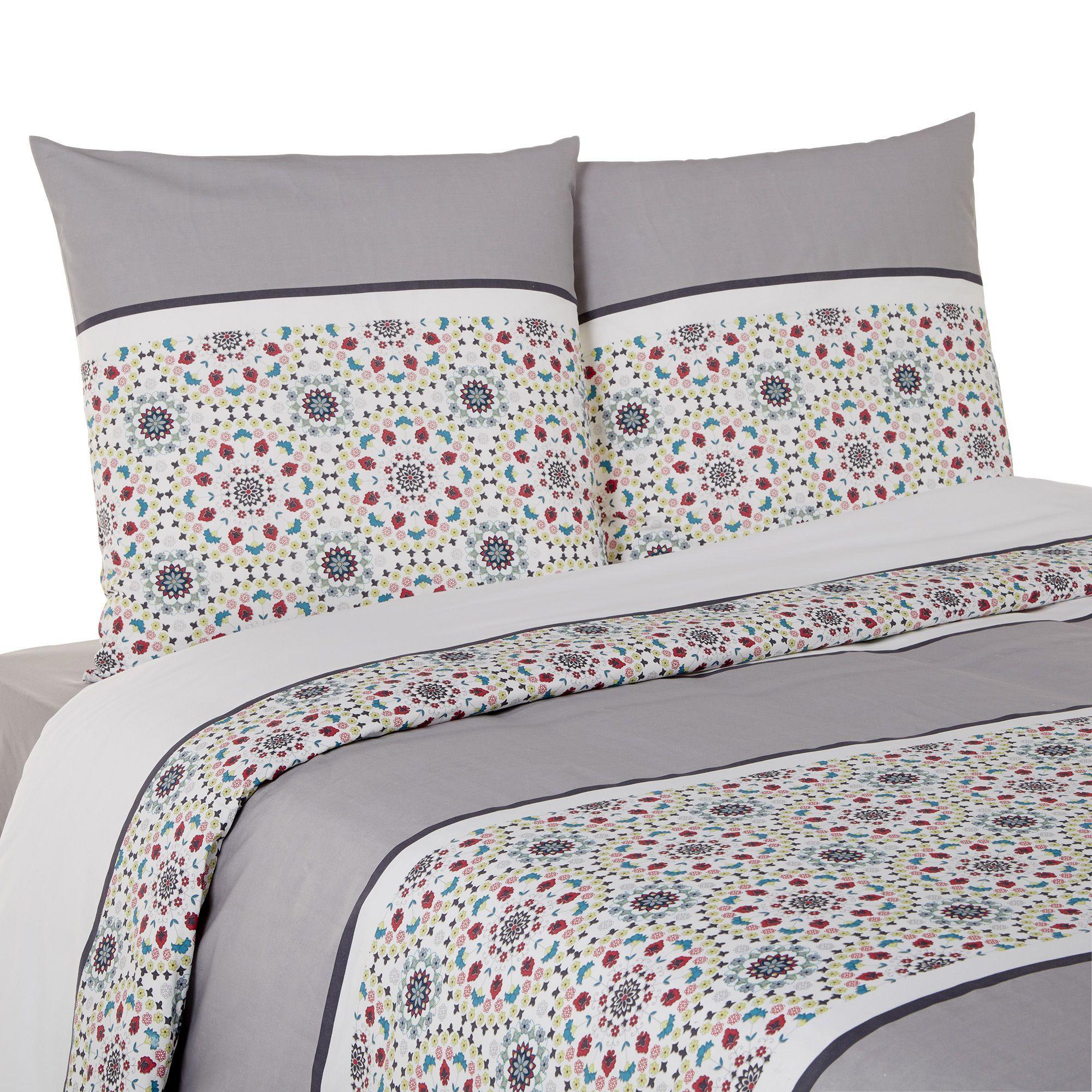 housse de couette et 1 ou 2 taie s d 39 oreiller zingara les parures de lit linge de lit. Black Bedroom Furniture Sets. Home Design Ideas