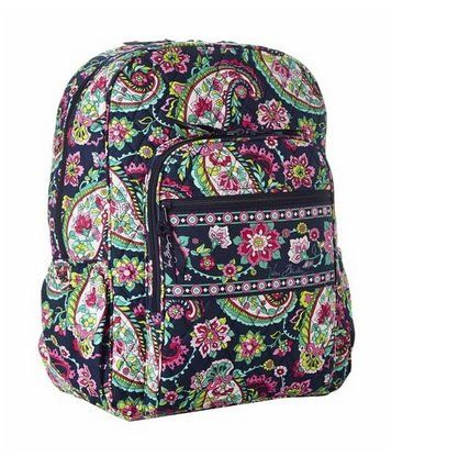 2229fab5dbe3 Vera Bradley Campus Backpack Petal Paisley -- You can find more details by  visiting the image link.