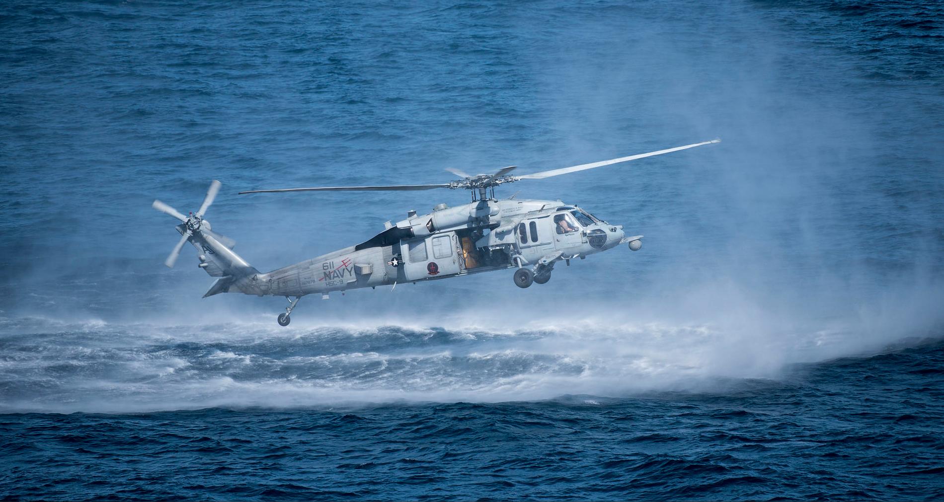 Обои MH-60R, армия, Sea Hawk helicopter. Авиация foto 5