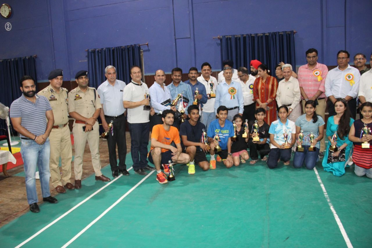 2nd Martyrs Memorial Badminton Tournament concludes