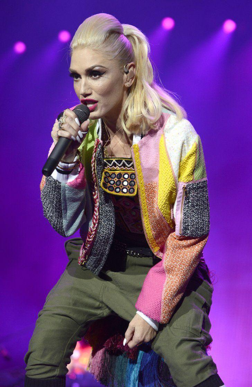 October 3 Gwen Stefani Gwen Stefani Ashlee Simpson Celebrity Hairstyles