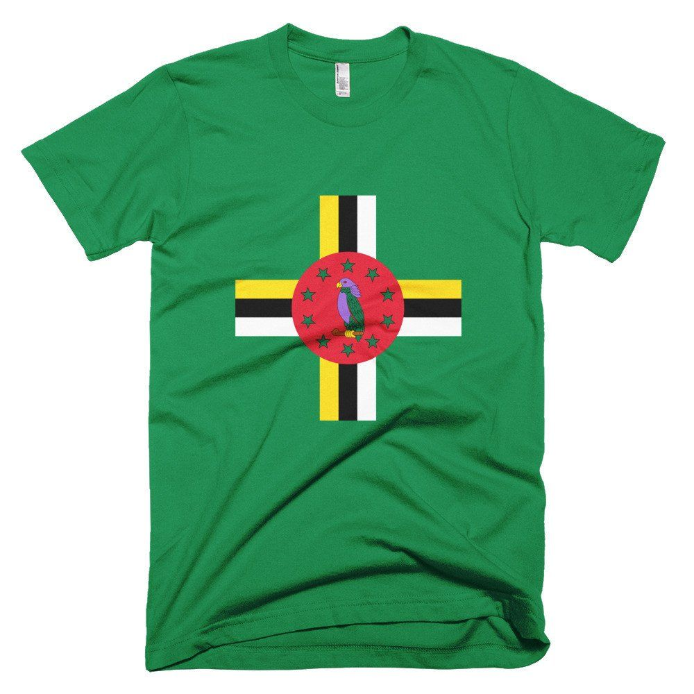 Dominica Hero Crest - Short sleeve men's t-shirt – Properttees