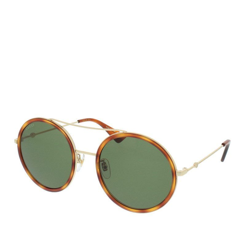 Gucci Gucci Sonnenbrille – Gg 0061S 002 56 – in braun, gold ...