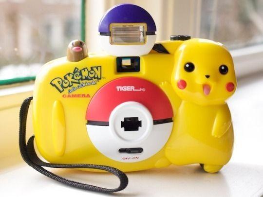 Pikachu Camera released in 1998 -