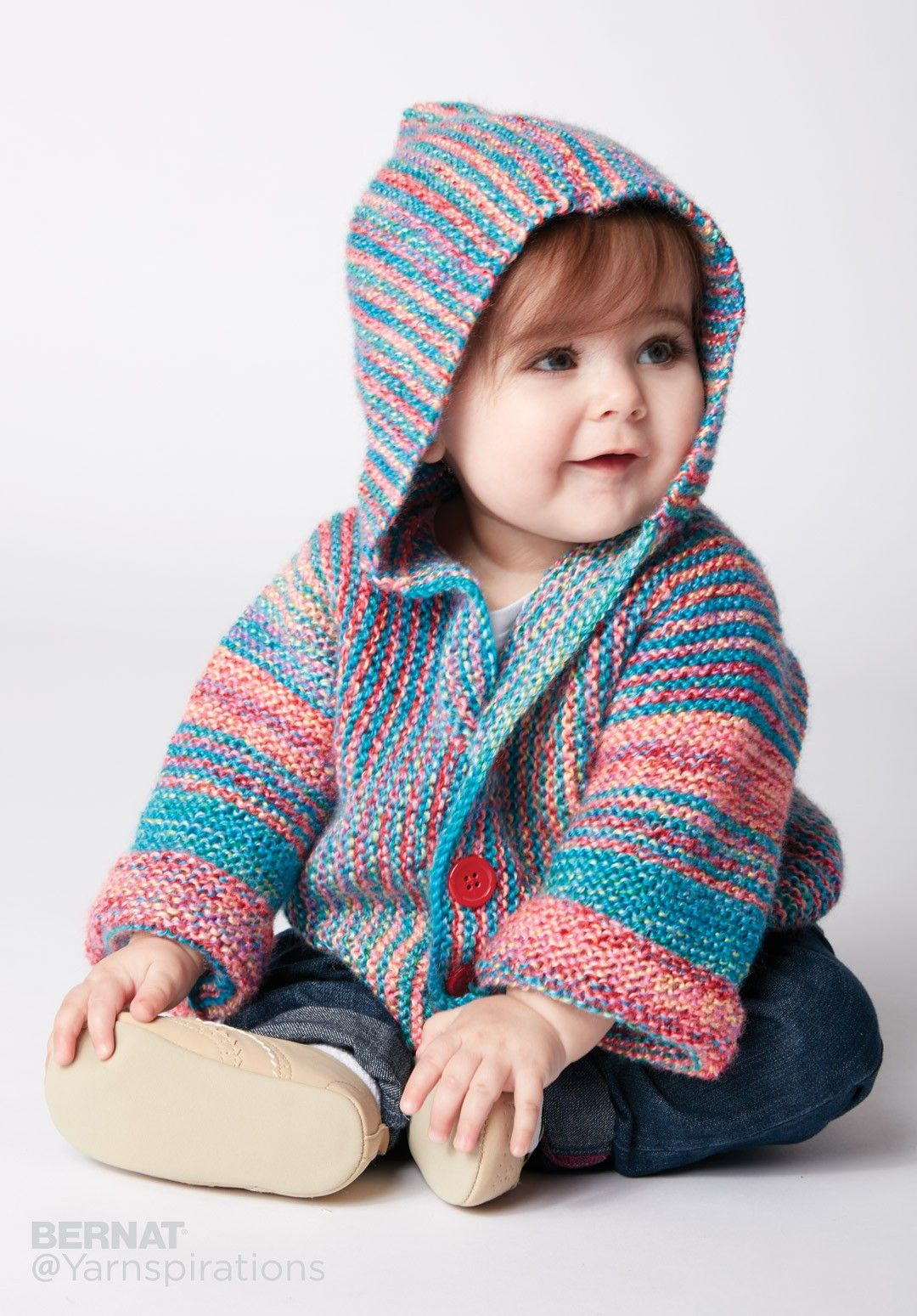 Show Your Stripes Knit Jacket | Knitting: Baby Clothes | Pinterest ...