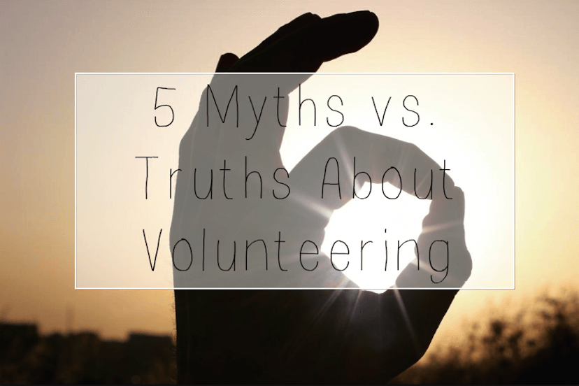 Curious about volunteering? Check out these truths and get out there! #TUNTips