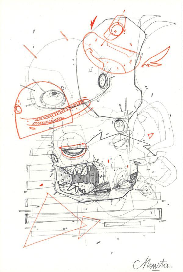 """""""BORDEL"""" serie #02 on Behance - Monsta Julien"""