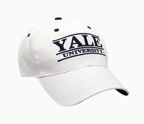 007f474dca2 Yale Bulldogs The Game Classic Bar Adjustable Cap by The Game.  16.99. One  size fits most. cotton. Solid White Cotton Twill hat with a Low Profile  shape.