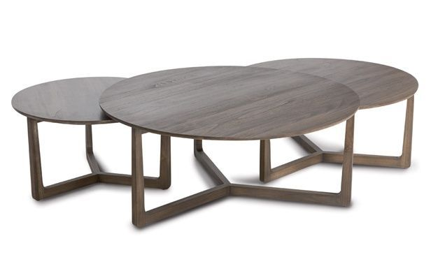 San Fran Deco Coco Republic Nested Round Coffee Tables Perfect For Upstairs Rumpus Room
