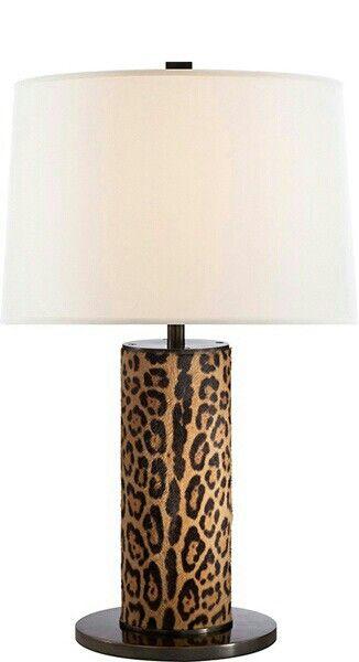 Ralph Lauren Leopard Lamp Animal Print Decor Luxury Table Lamps