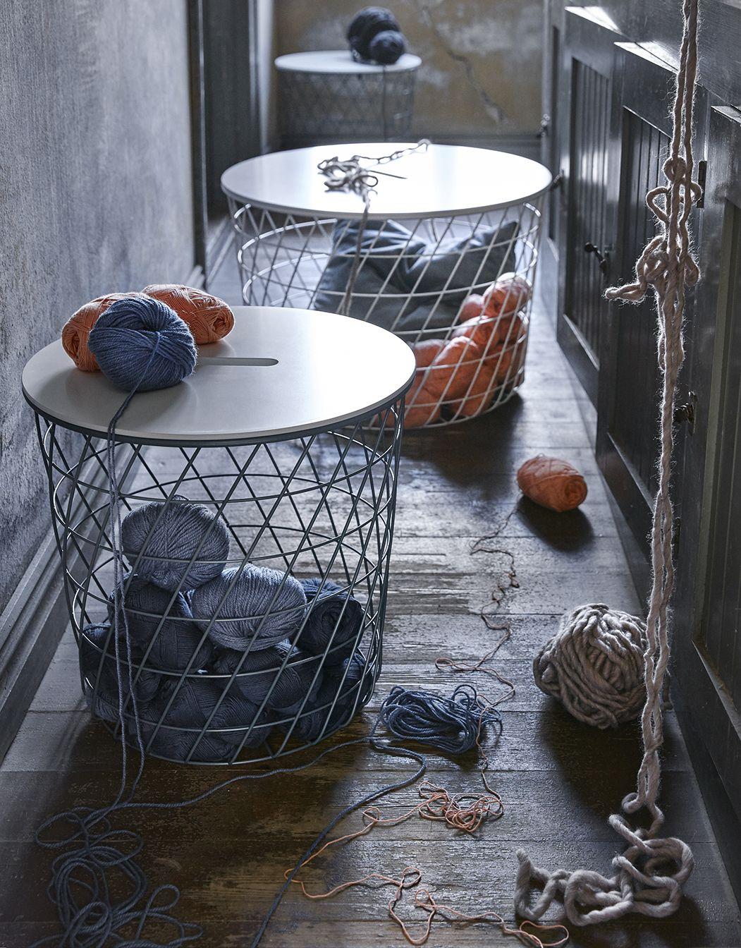 Fantastisk IKEA STUE KVISTBRO Bord med opbevaring. Du kan opbevare alt fra KQ11
