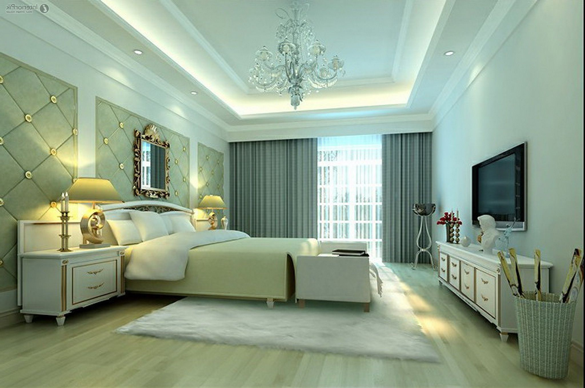 Bedroom Inspiring Ceiling Lighting Ideas With Extravagant Look Beautiful Light For