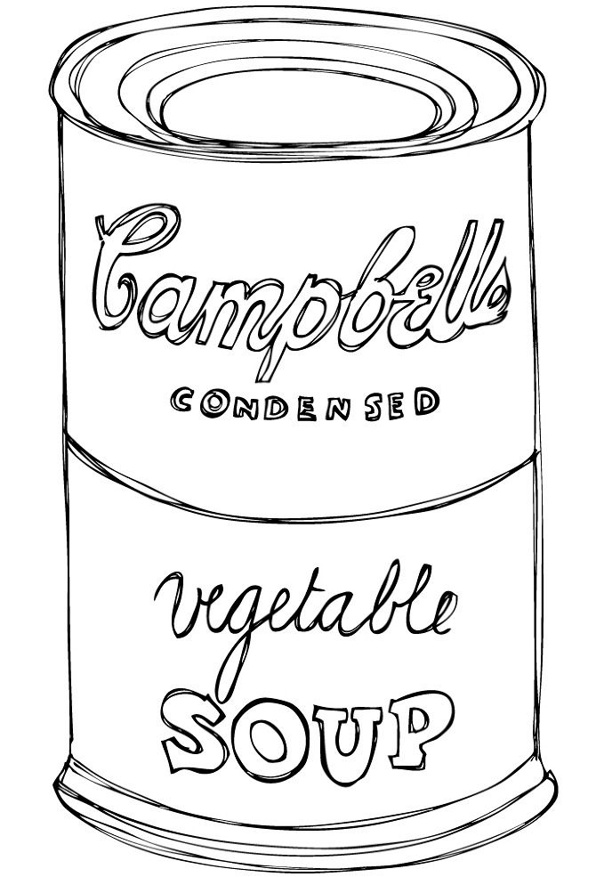 Idea By Lucianna Polvere Dibona On Daisies Campbell Soup