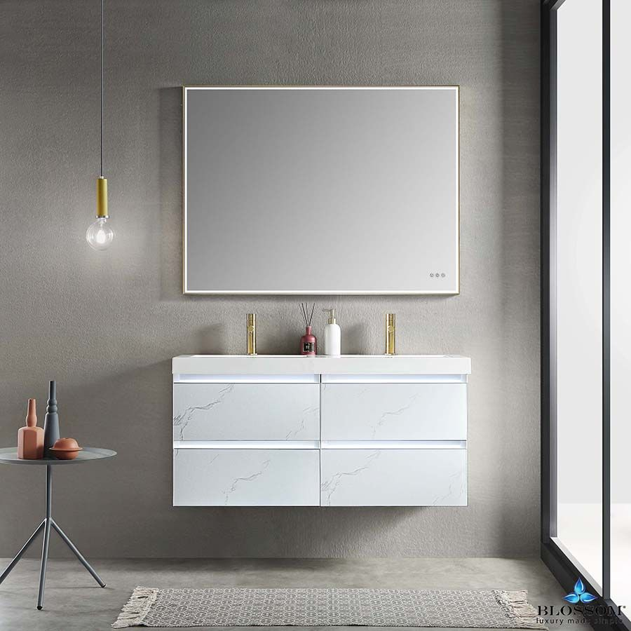 42+ Wall mounted bathroom vanity 48 inches inspiration