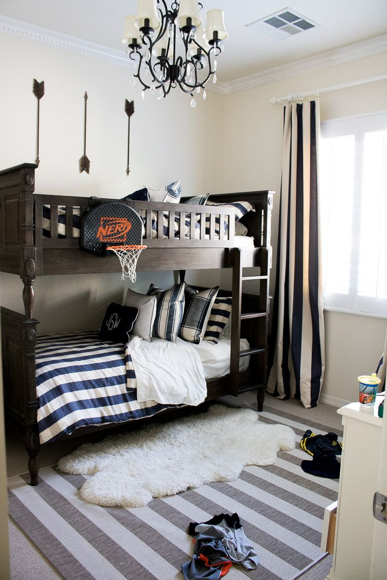 5 Tips On How To Have A Beautiful Home With Children Bunk Bed Rooms Boys Bedroom Decor Boys Shared Bedroom