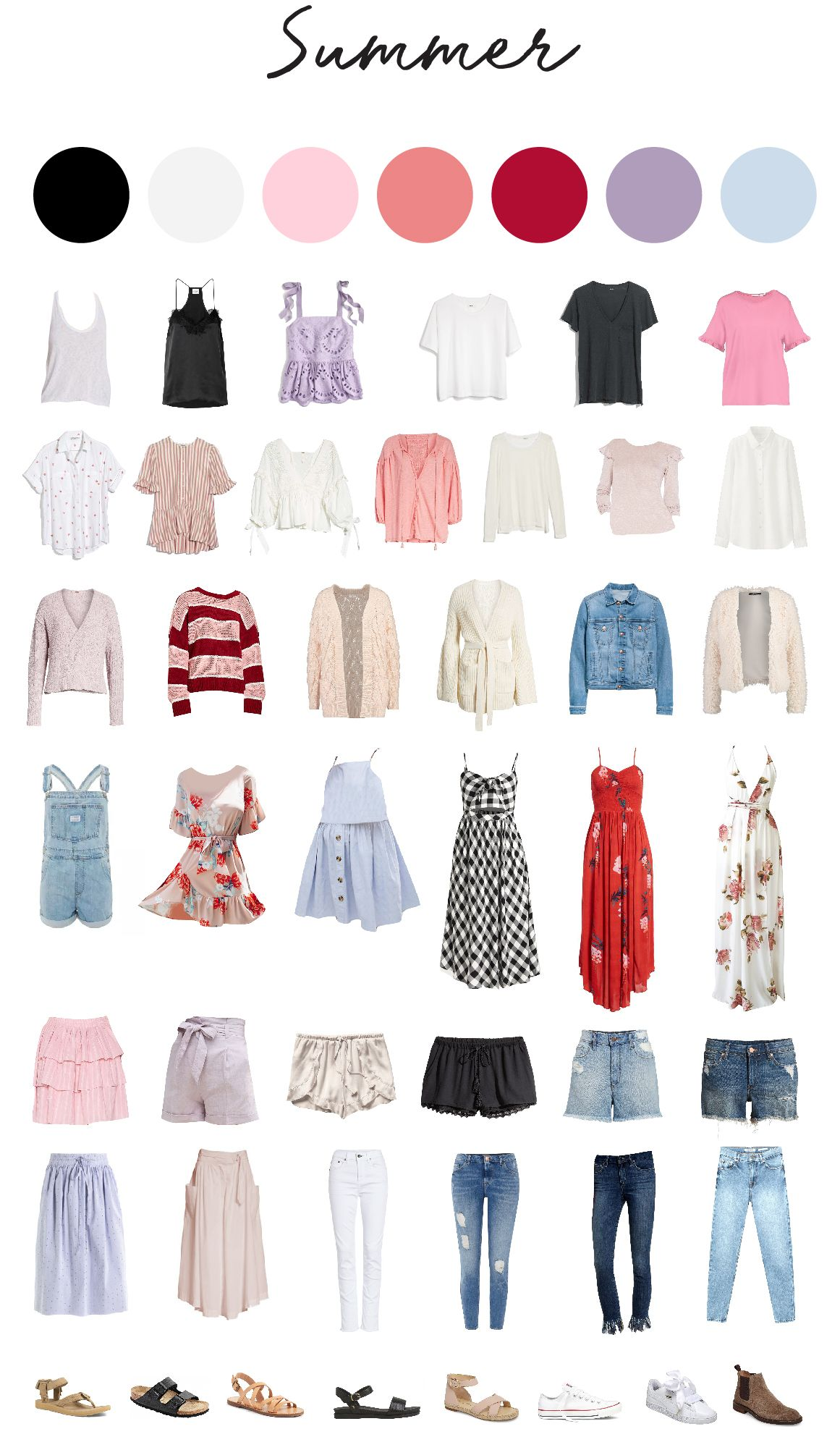 Travel Capsule Wardrobe for Belgium #travelwardrobesummer