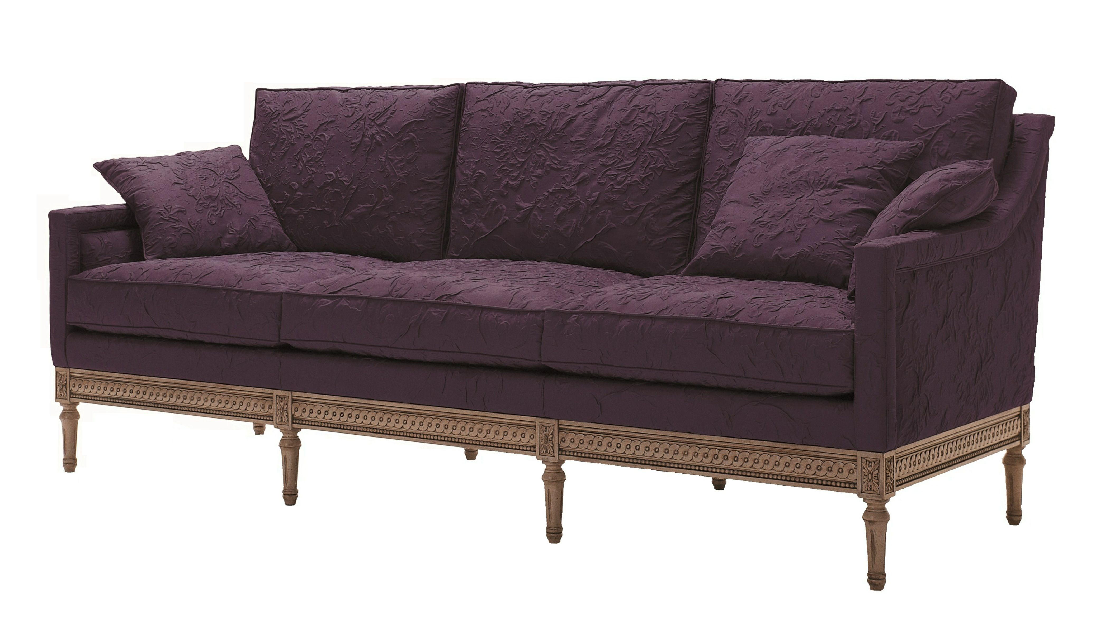 A classic style frame with a contemporary look. Gustavian sofa