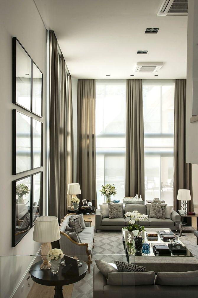 Global Design Inspiration Brazilian Designer Christina Hamoui The Decorista High Ceiling Living RoomLiving