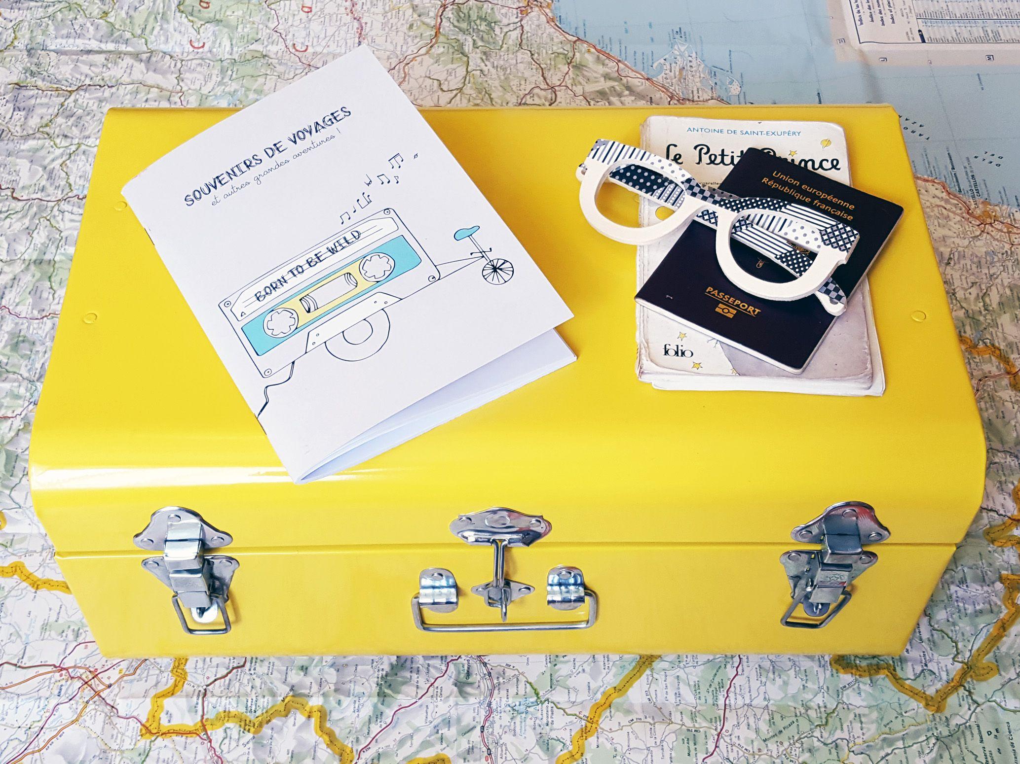 Carnet pour écrire ses souvenirs de voyages et autres aventures | Pigment des Belettes