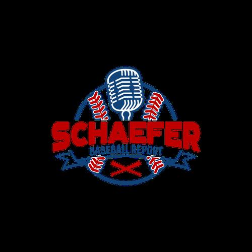 Schaefer Baseball Report Create A Logo For A Former Mlb Player Radio Talk Show Sports Logo Inspiration Geometric Logo Sports Logo Design