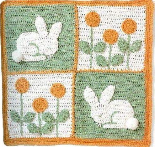 Patrón #1462: Figura de Conejo a Crochet #ctejidas http://blgs.co ...