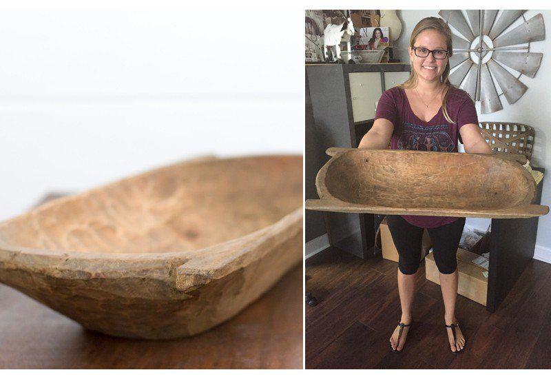Bread Bowl   Dough Bowl   Wooden Bowls   Rustic/Primitives ...