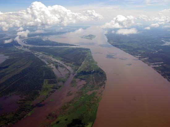 Amazon River River Amazon River Airplane View