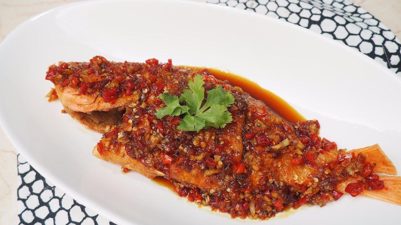 Resep Ikan Goreng Rica Rica Bumbu Pedas Spicy Crispy Fried Fish Thai Food Recipe Youtube Makanan Resep Masakan Thai Resep Ikan