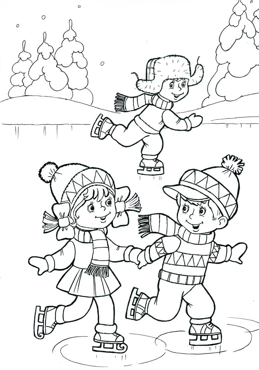 színezés tél | Coloring Pages | Pinterest | Tareas, Preescolar y ...