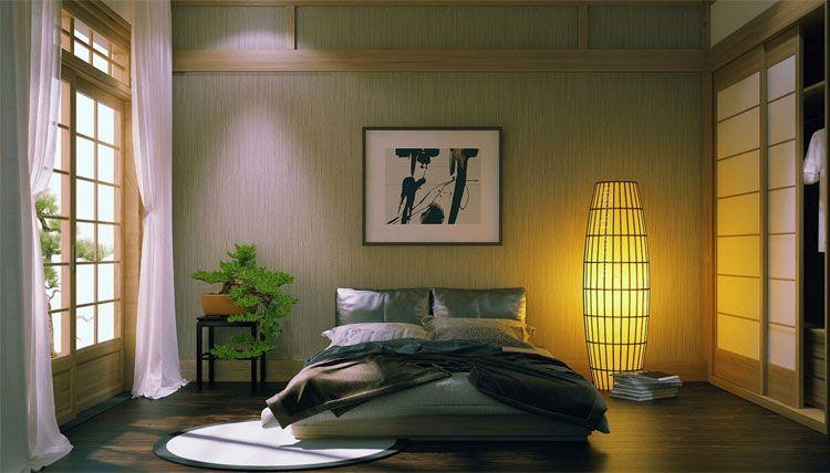Camere Da Letto Stile Zen : Stupende camere da letto con design zen asiatico armadio