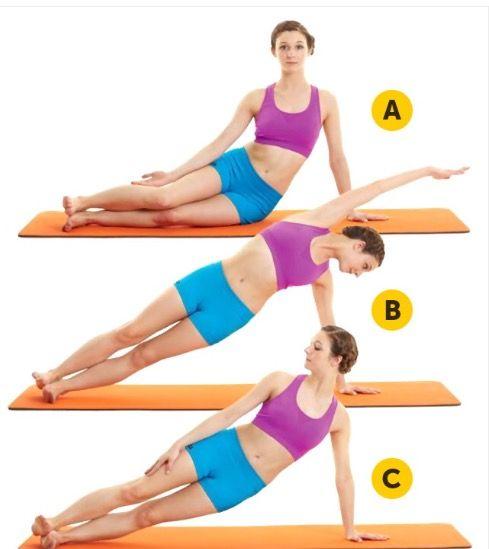 Adelgazar cadera y cintura fina