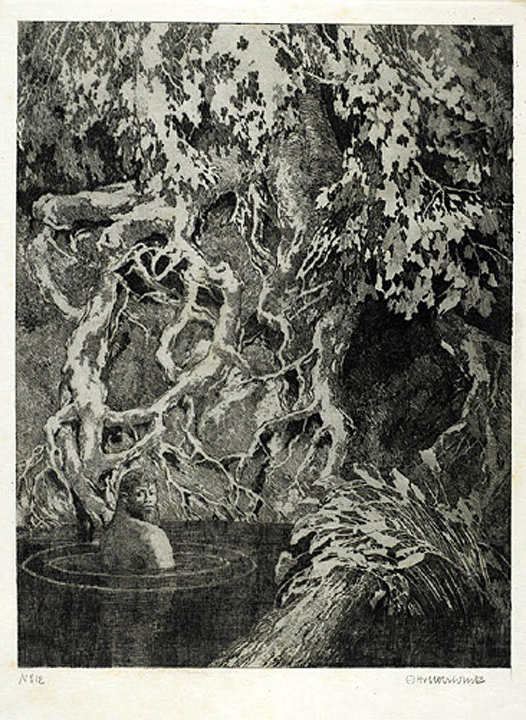 Otto Ubbelohde. Fairy Tales of Brothers Grimm. [ja5795b.jpg]