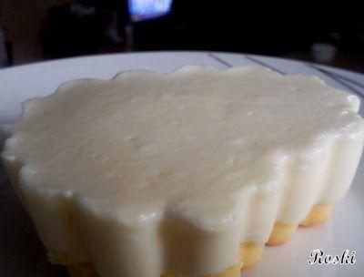 """Roski-cocina y algo mas-Yus: Tarta cremosa de queso apta para """" Dukan. """""""