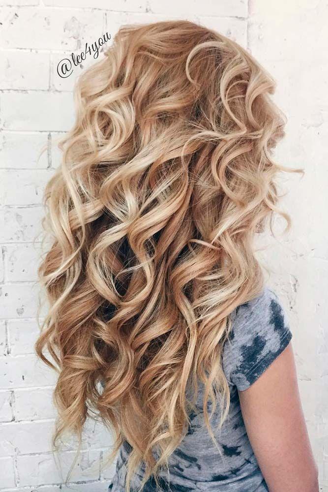 Best 25+ Long hair curls styles ideas on Pinterest | Girls ...