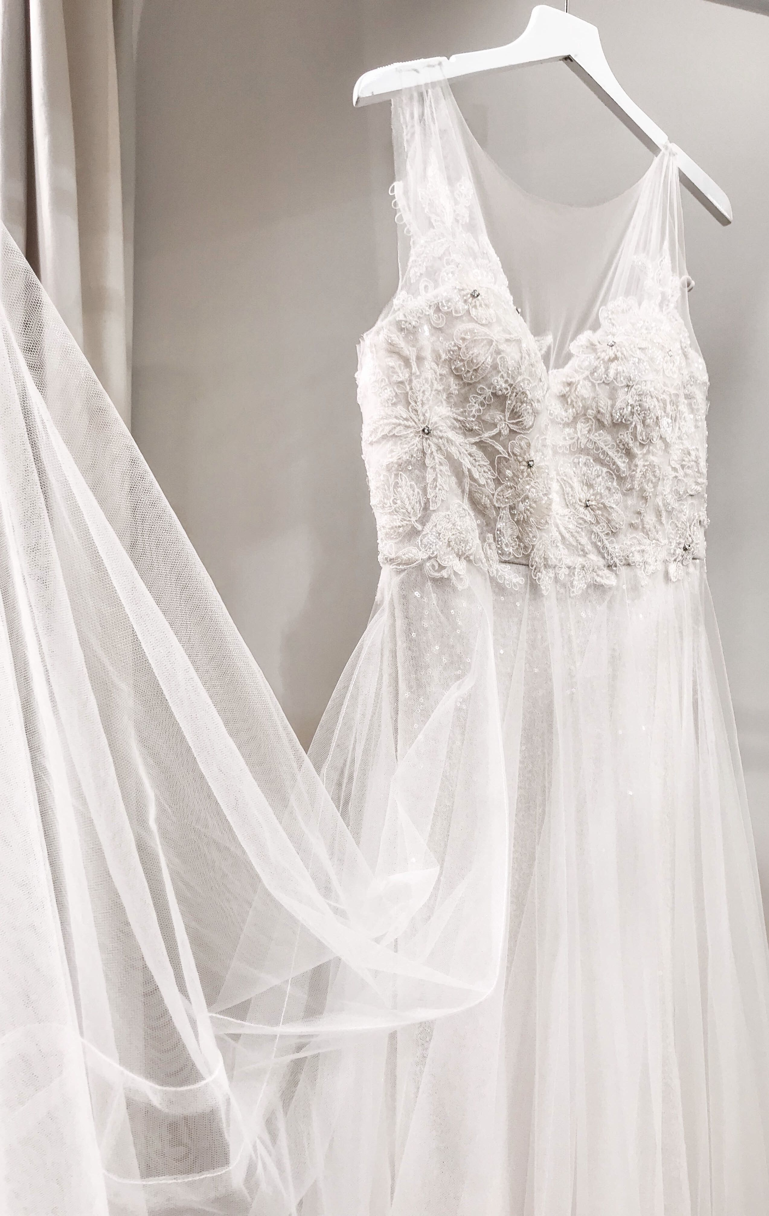 Dreamy tulle wedding gown our isla dress is perfect for a chic boho