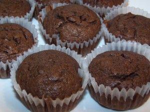 Gluten Free Chocolate Banana Muffins - Linda's Lunacy