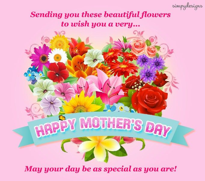 Happy Mothers Day Flowers Quotes Happy Mothers Day 2019 Images