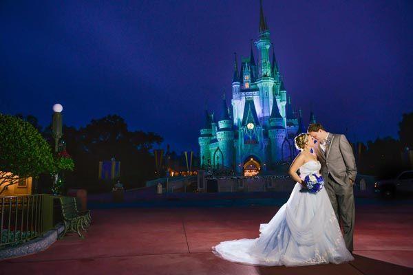Magic Kingdom Disney Wedding Portraits Cierra Mark