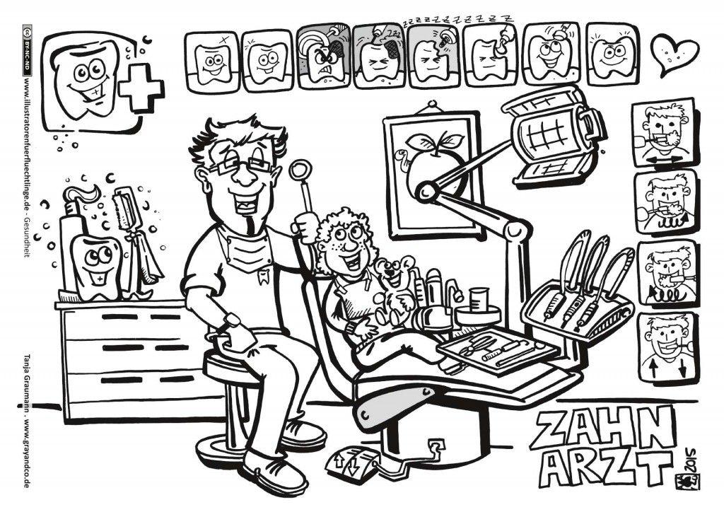 zahnarzt ausmalbilder ausdrucken  best style news and