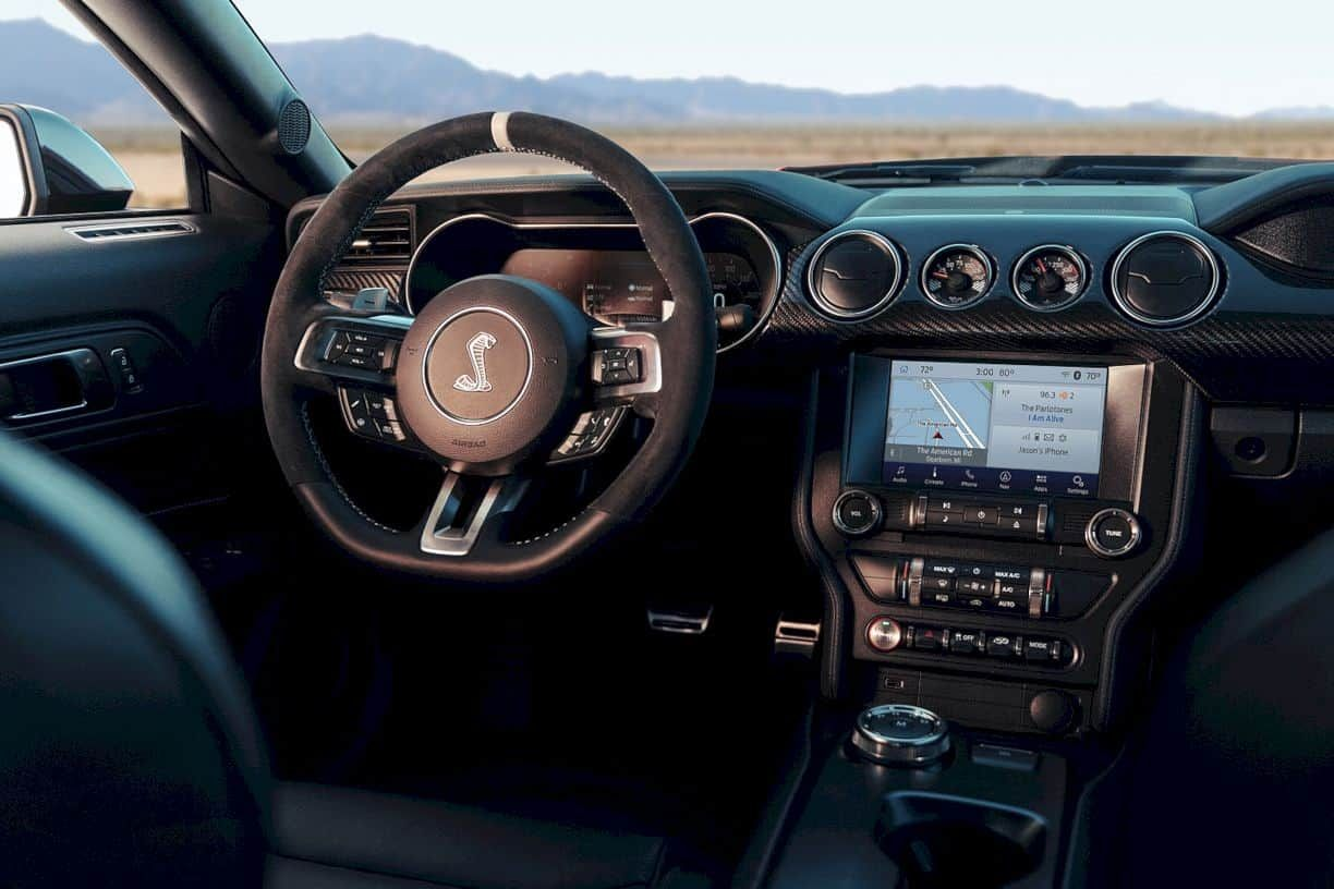 2020 Ford Mustang Shelby Gt500 The Exclusive Class With Broad