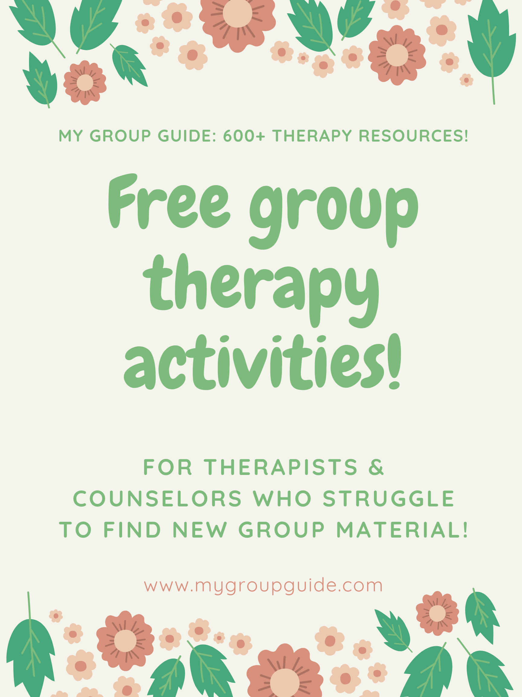 Learn More About Our Therapy Resources