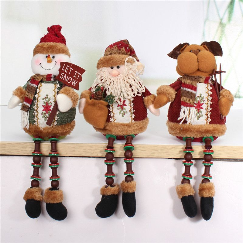 Special Offer ! ! Hot Sale Santa Claus Snow Man Reindeer Doll - christmas decorations sale