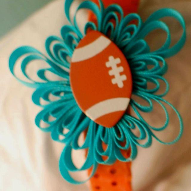 Miami Dolphins headband