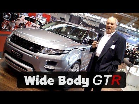 http://www.Ritter-Cars.ch - Ritter-Design präsentiert den neuen Range Rover Evoque Wide Body in einem sehr starken Styling und Leistungssteigerung. Der Ritter-Design Evoque Wide Body GTR ist um 11 cm breiter, hat große 22 Zoll Räder und weitere sehr gelungene Designveränderung rundum. Video/Musik: http://MotorsAndGirls.com / Rod Meier